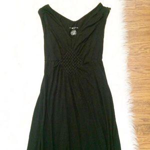 Maternity Maxi dress sleeveless black